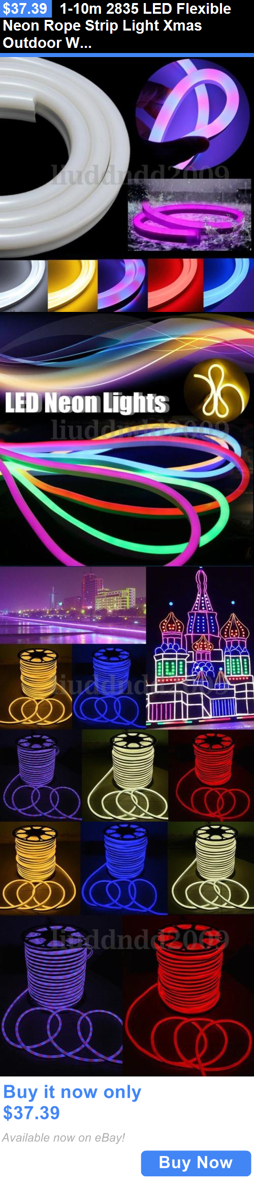 L&s And Lighting 1-10M 2835 Led Flexible Neon Rope Strip Light Xmas Outdoor & Lamps And Lighting: 1-10M 2835 Led Flexible Neon Rope Strip Light ... azcodes.com