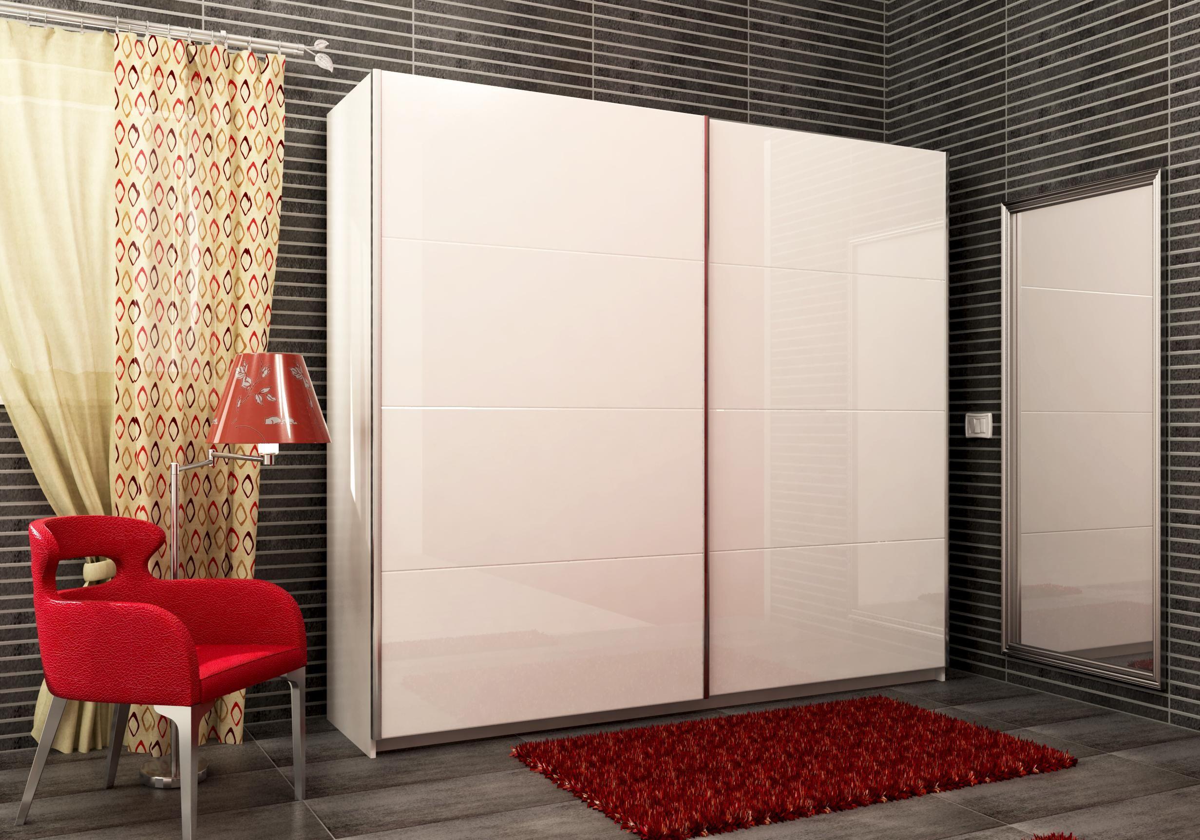 armario 2 puertas correderas 240 cm marc armarioss