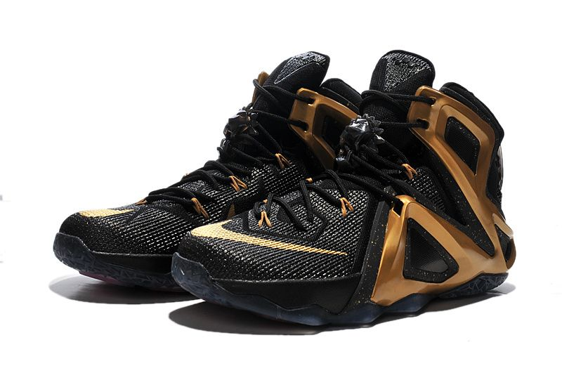 LeBron 12 Elite Black Metallic Gold 810376 991 · Nike Roshe ShoesNike ...