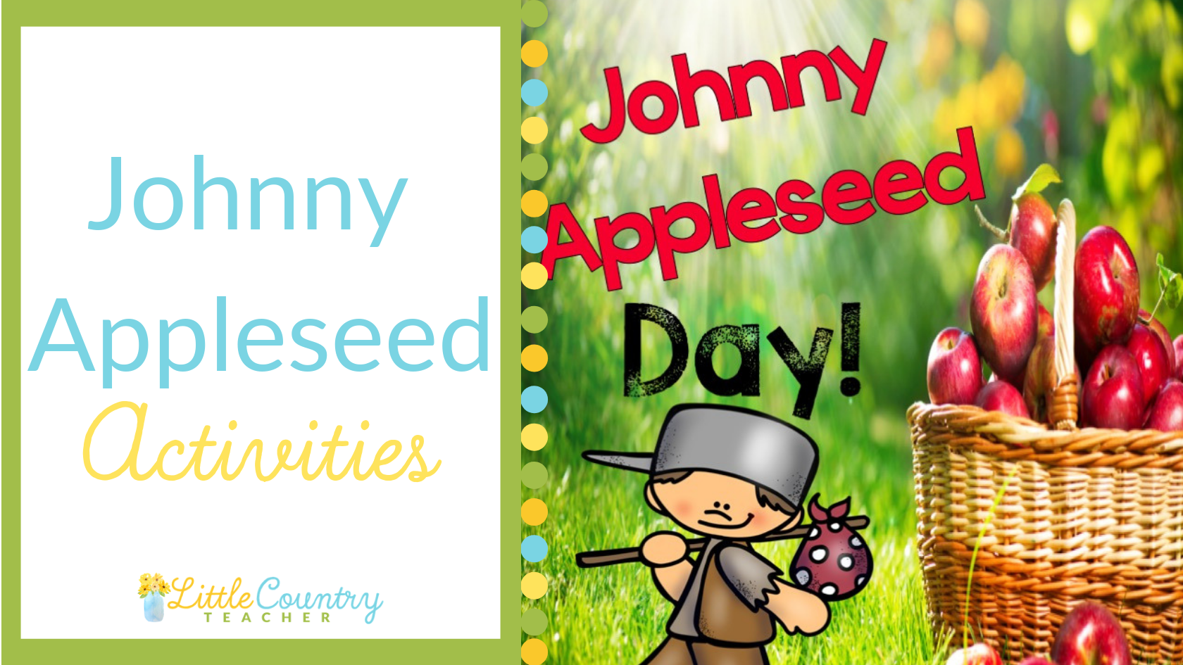 Johnny Appleseed Day Is Classic But Your Johnny Appleseed