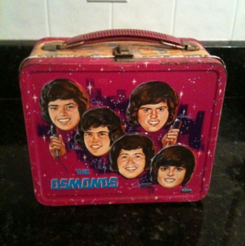 Lunch Box, Vintage Lunch Boxes, Happy