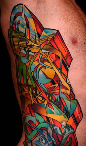 Geometric Tattoos Portland: Clae Welch At Historic Tattoo