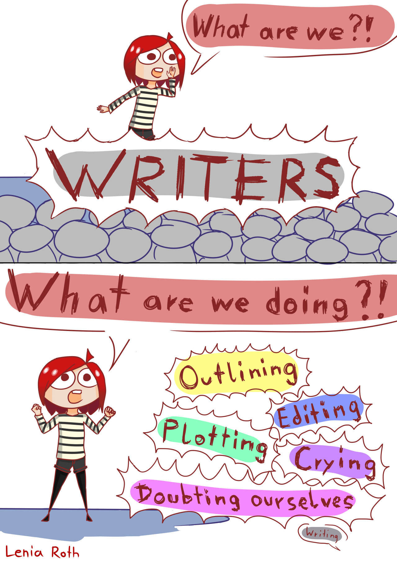 Schreibblockade offiziell #drawingprompts