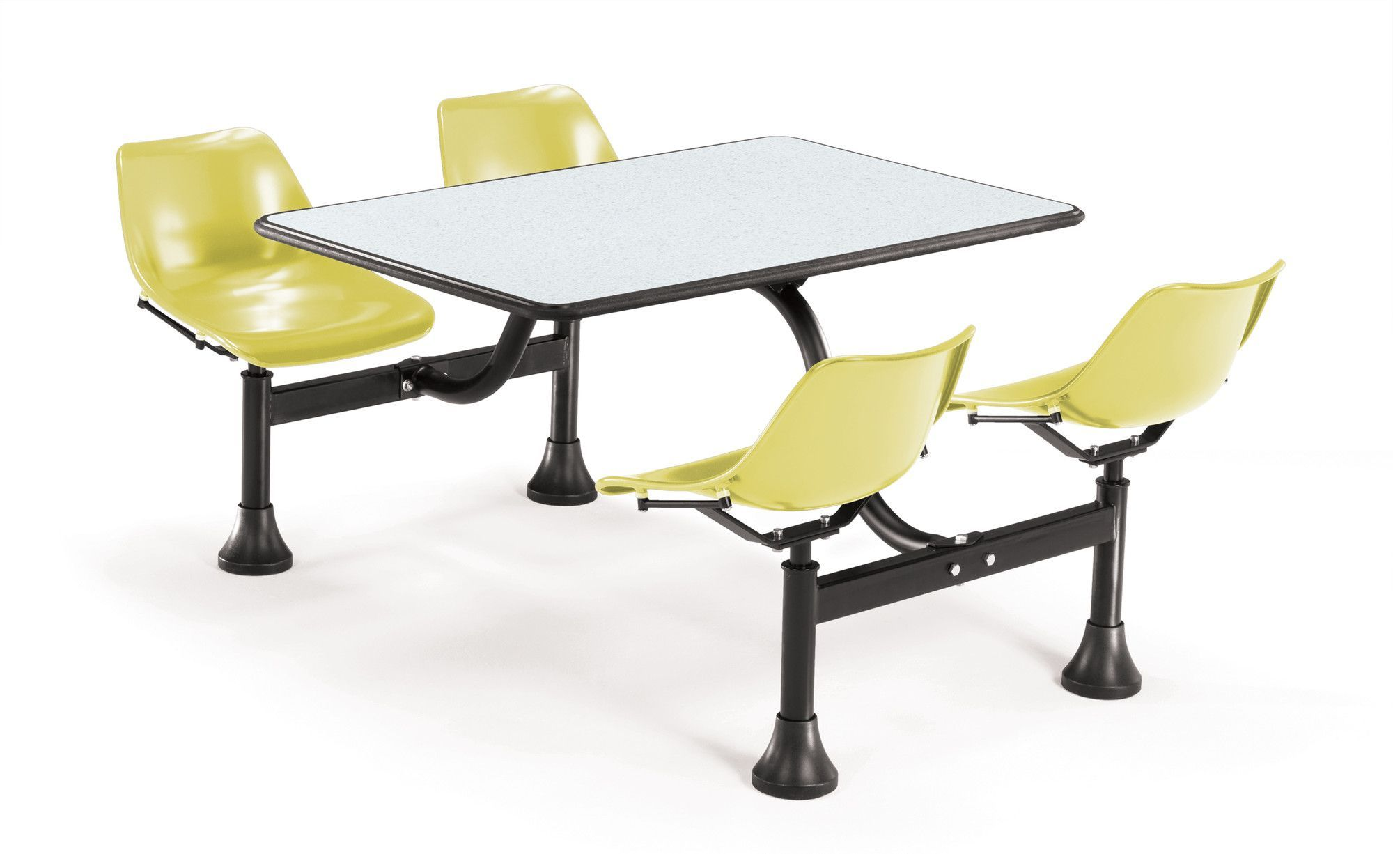 Group Cluster Table And Chairs 65 X 48 Rectangular Cafeteria Table Cafeteria Table Table Chairs Dining Table