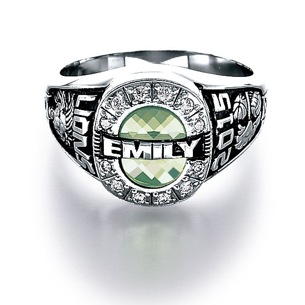 Custom class ring from Jostens #Achiever | Class Ring ideas | School