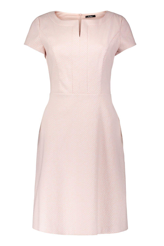 Kleid Mit Armel Altrosa Silberschimmer Vera Mont Mode Bosckens Kleid Mit Armel Brautmode Kleider Fur Die Brautmutter