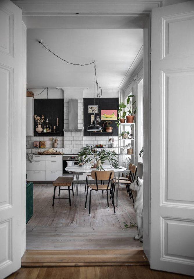 Le Design Scandinave Aime Les Appartements Anciens