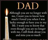 Happy Father's Day Quote For Dads Who Are No Longer Here