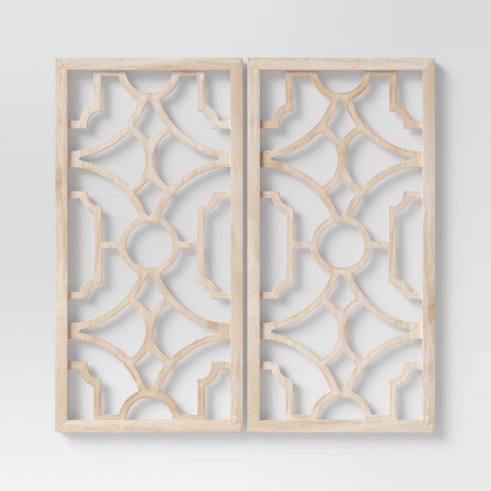 Find Many Great New Used Options And Get The Best Deals For Threshold Quality Design Screen Decor Metal Bronze Wall Art 3 Piece Set At