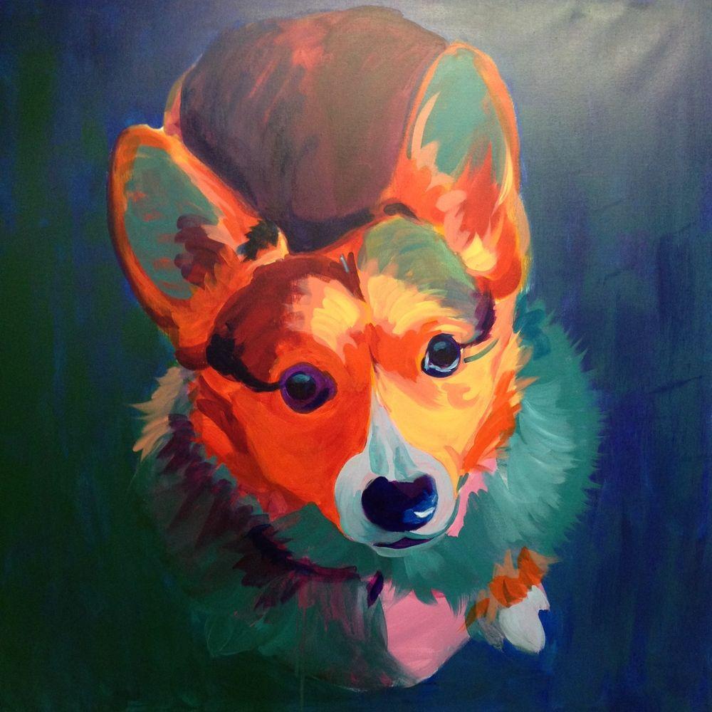 Blog Heather Bullach Art Corgi Art Dog Art Art