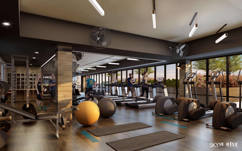 Дизайн фитнес зала фото