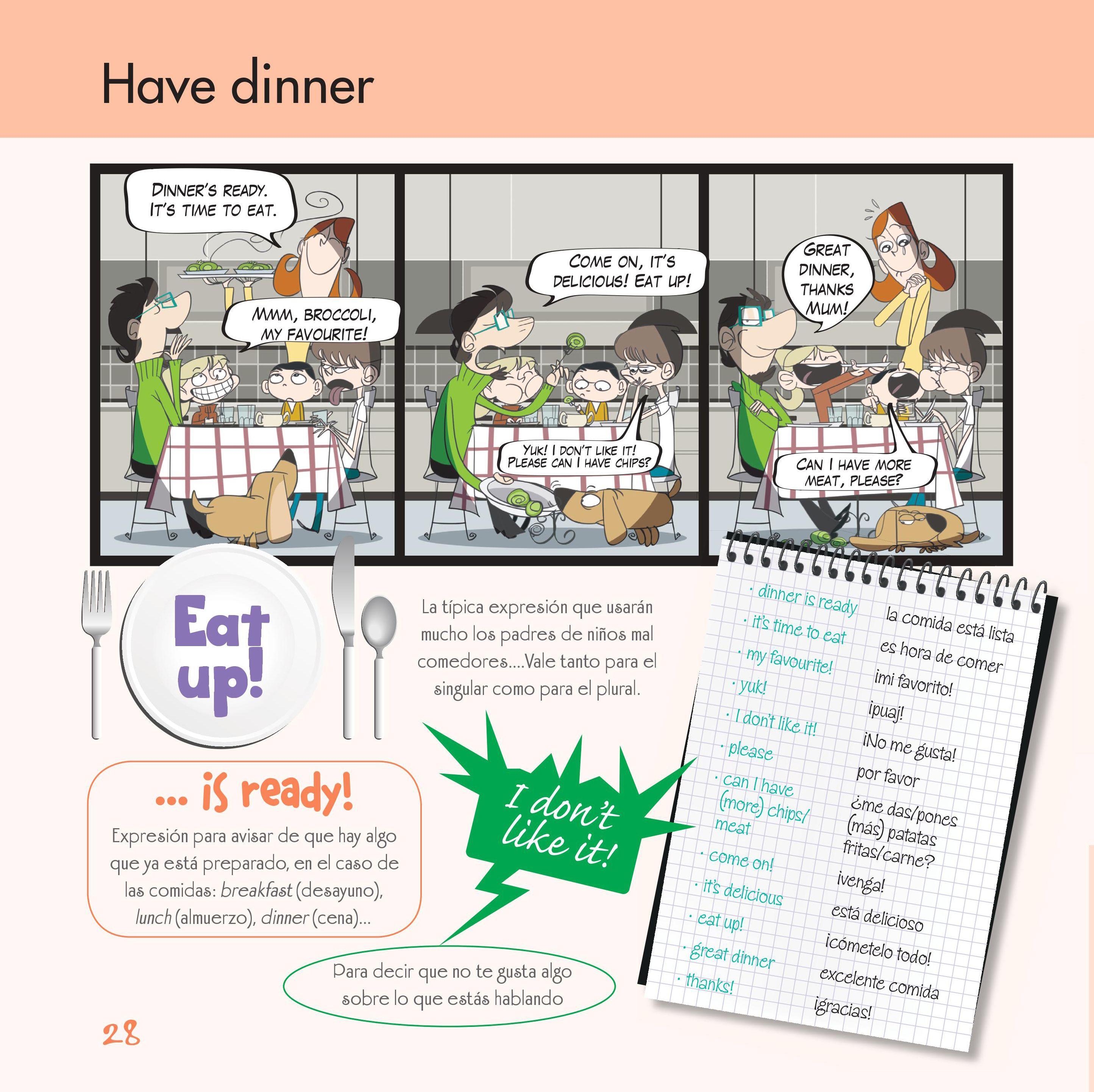 Practica Inglés En Casa Con Toda La Familia Ingles Familia Niños