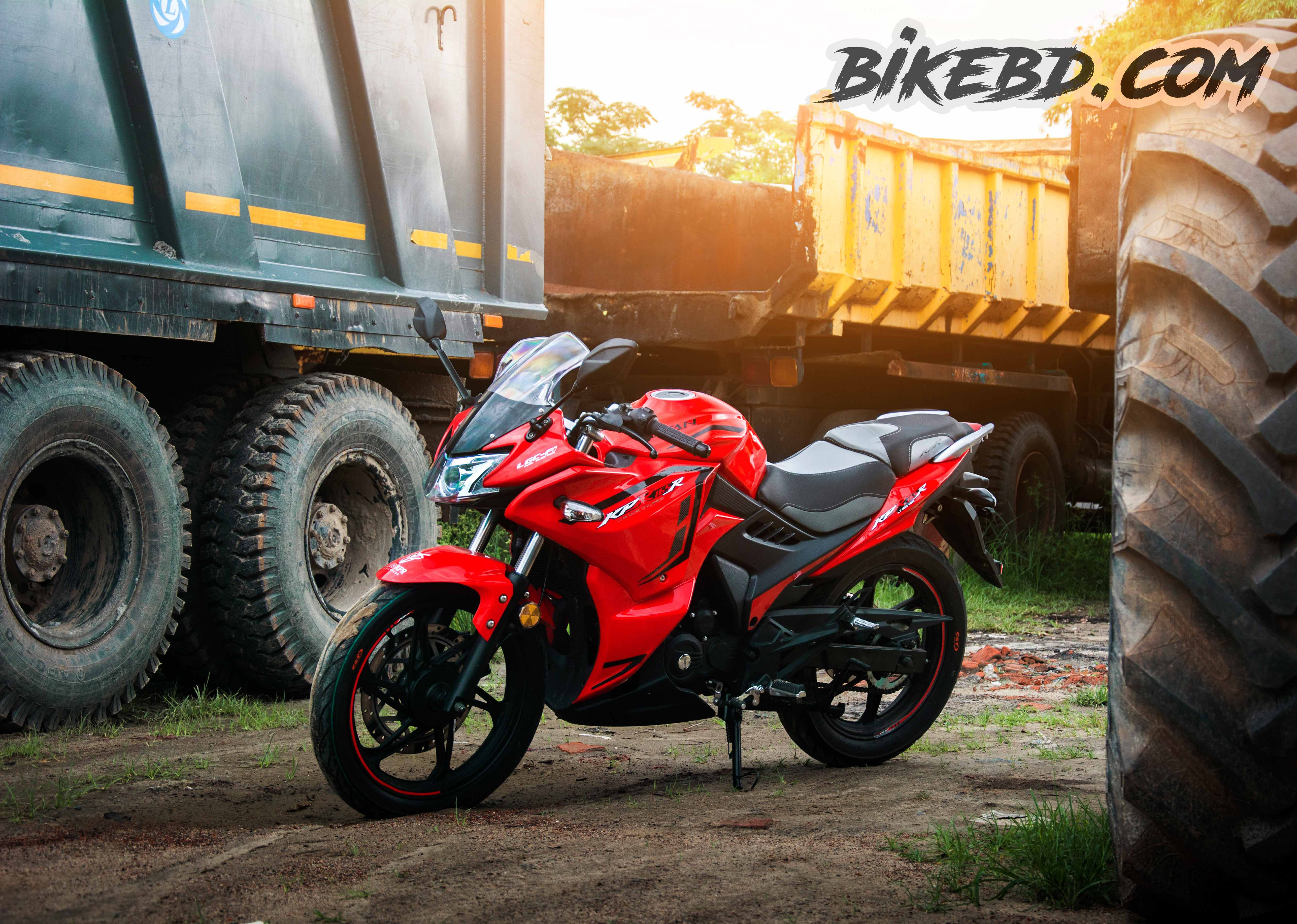 Lifan KPR series is one of the most popular motorcycle in