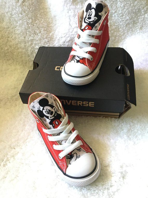 4f4ff9fba6b4 Mickey Mouse Converse Shoes