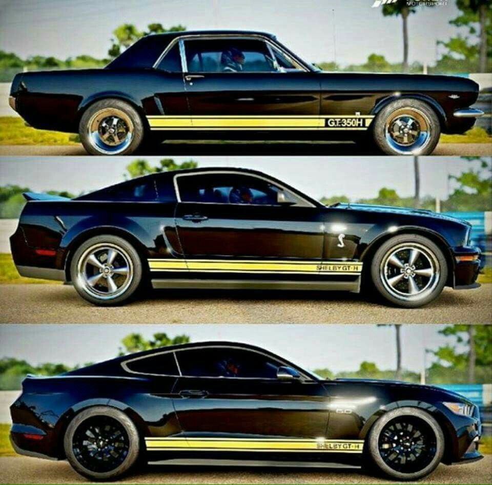 Shelby Gt Coupe: 1966, 2006, 2016 Shelby GT350H