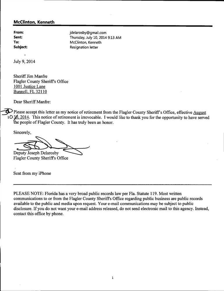 resignation letter format imposing resignation letter News to Gow