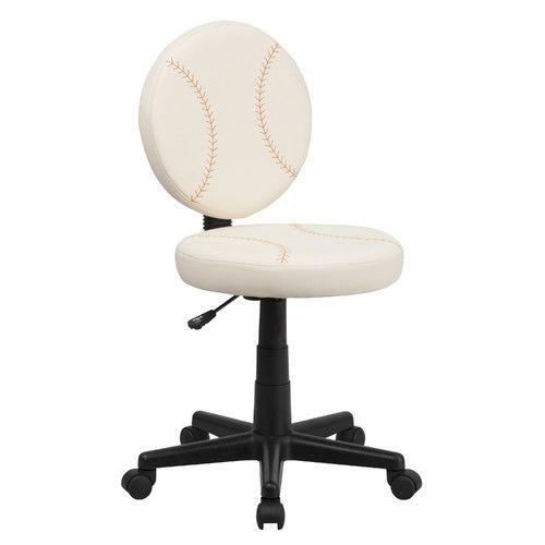 FlashFurniture Baseball Mid Back Kids Desk Chair Reviews