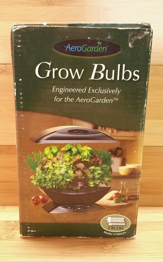 Brand New 2 Pack Aerogarden Grow Bulbs 100629 In Home 400 x 300