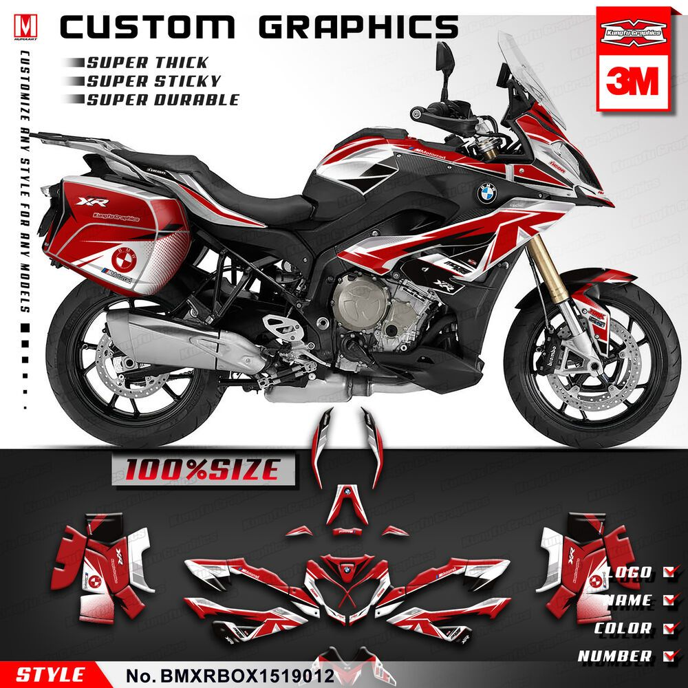 Advertisement Ebay Custom Motorcycle Decals Stickers Kit For Bmw S1000xr 2015 2016 2017 2018 2019