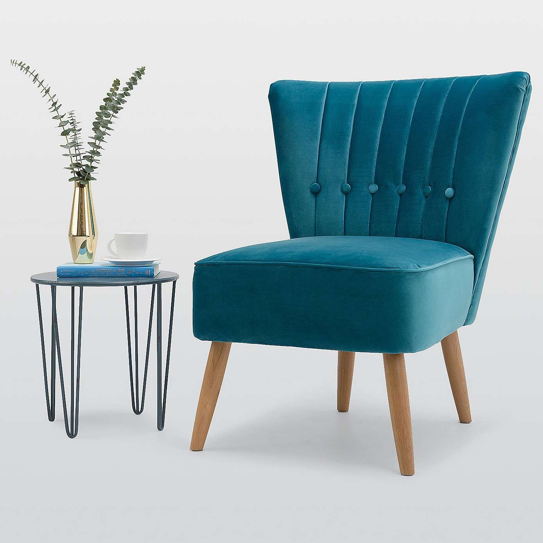 Strange Isla Velvet Chair Teal In 2019 Teal Chair Cocktail Lamtechconsult Wood Chair Design Ideas Lamtechconsultcom