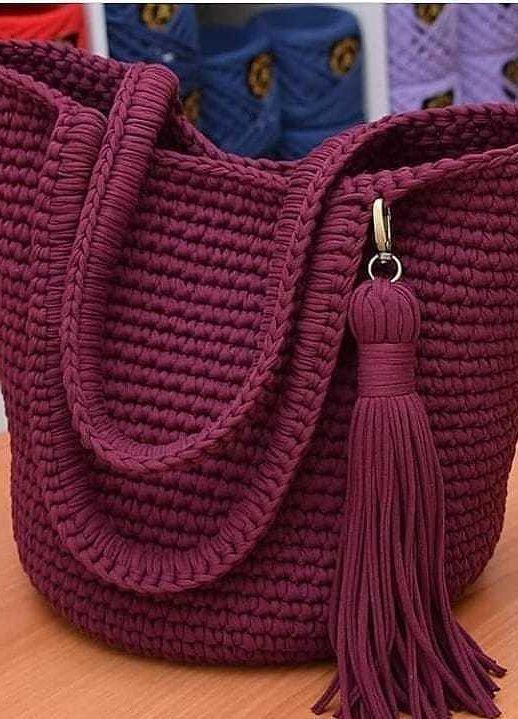 103 Das Beste aus Trend Häkeltasche Musterideen Modelle finden Sie hier #bagpatterns