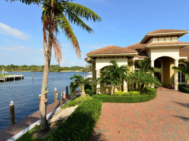 Waterfront property along the ICW www coastalflrealestate