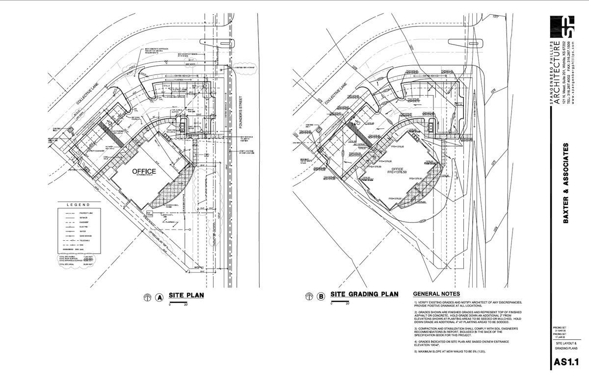 Construction Document Examples Jill Sornson Kurtz Archinect Construction Drawings Construction Documents Urban Design Plan