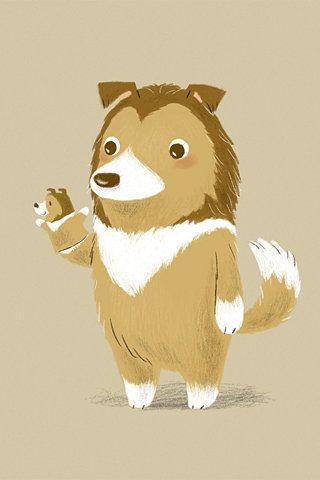 Cute Wildlife Animals Cartoon Wallpapers Kartun Stiker