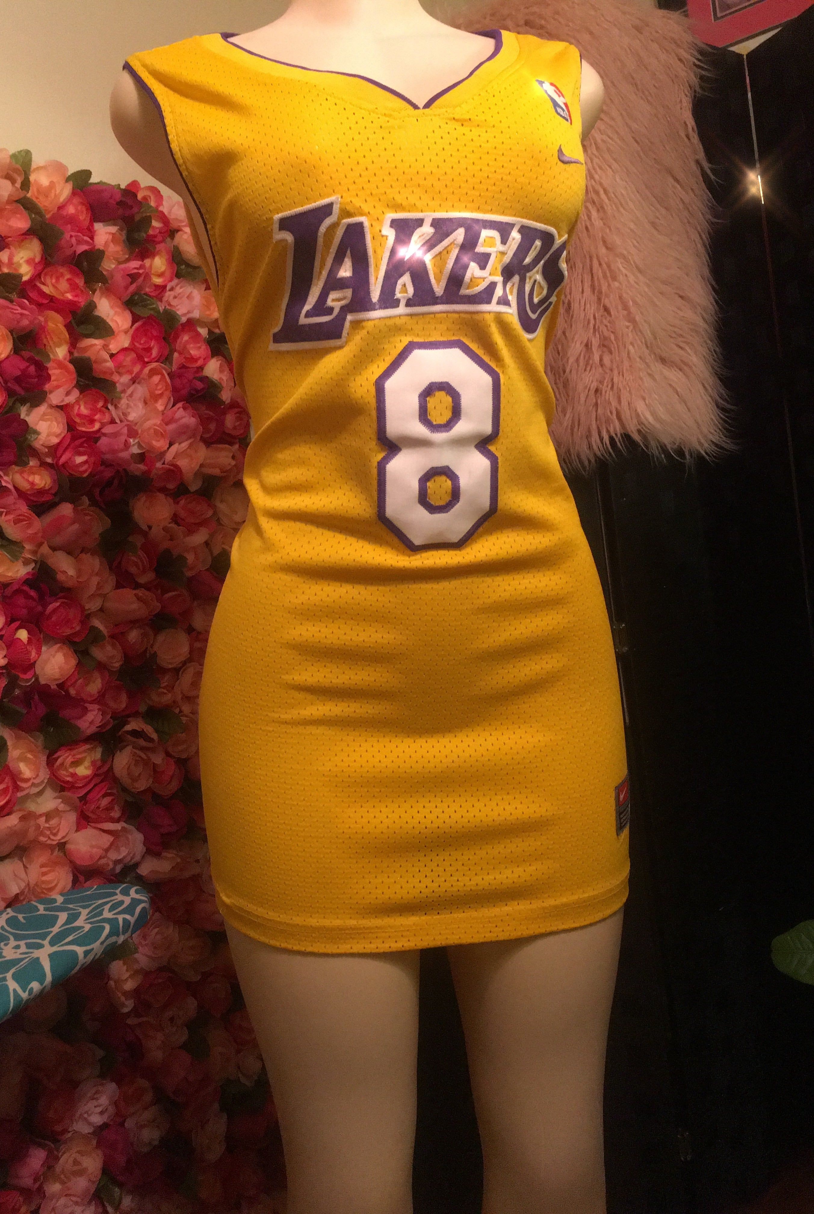 Lakers Nba Jersey Dress Nba Jersey Dress Jersey Outfit Basketball Jersey Outfit