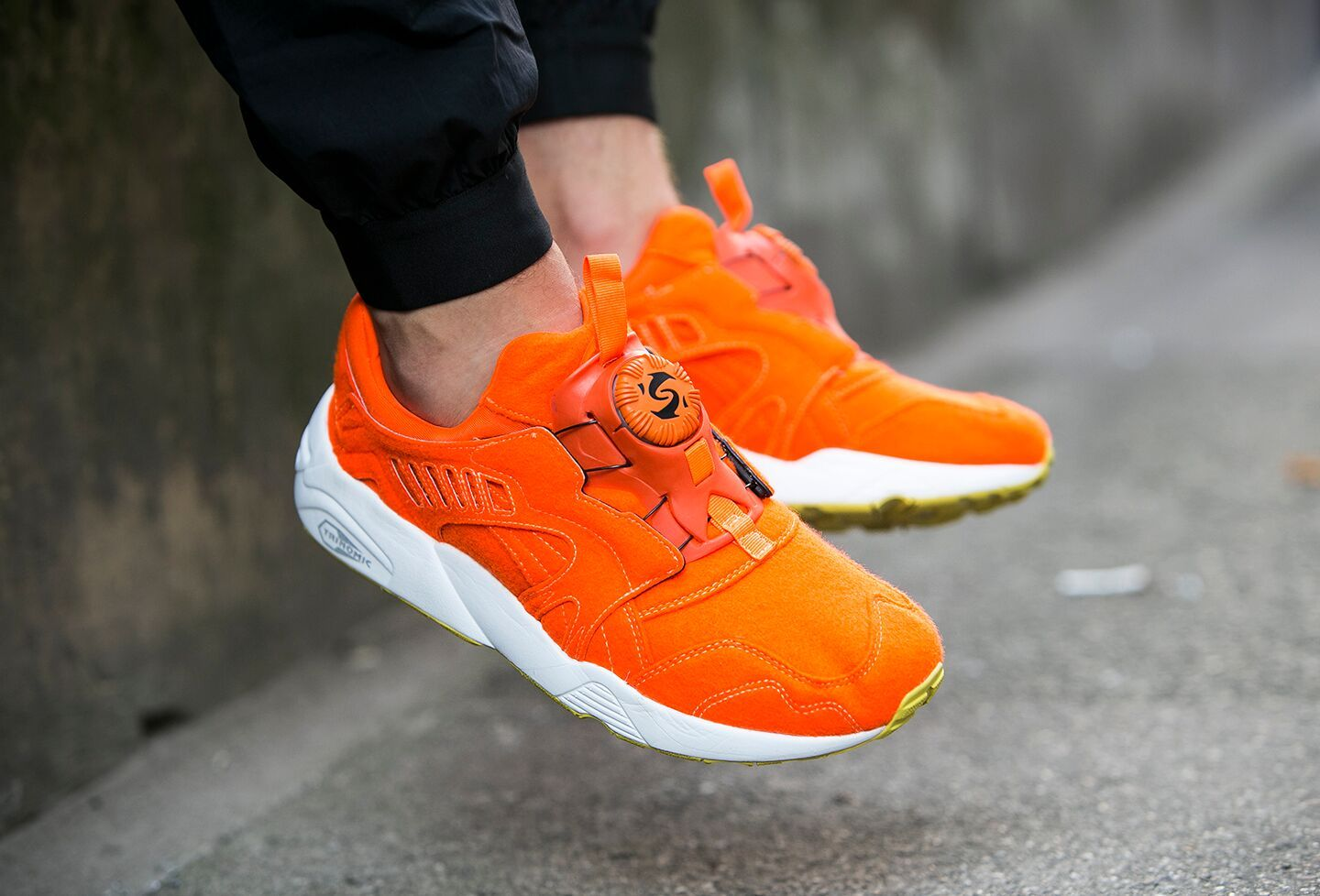 Puma 01 Trinomic Disc Bright Wool Orange Ref/359361 01 Puma 81dbe2