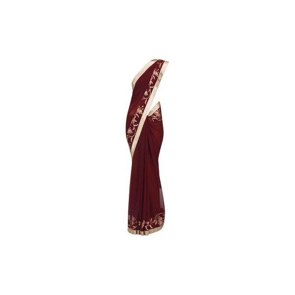 Sarees ❤ liked on Polyvore featuring dresses, sari, indian, saree, gown, lace applique dress, lace dress, lacy dress, lacy red dress and embroidered dress