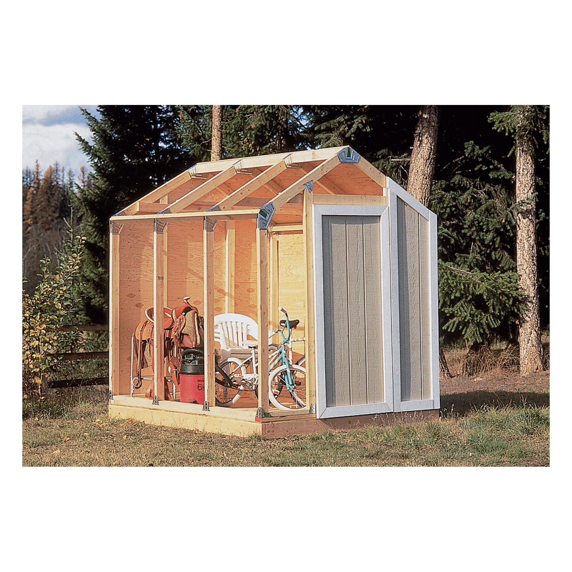 Fast Framer Universal Storage Shed Framing Kit — Universal Roof ...