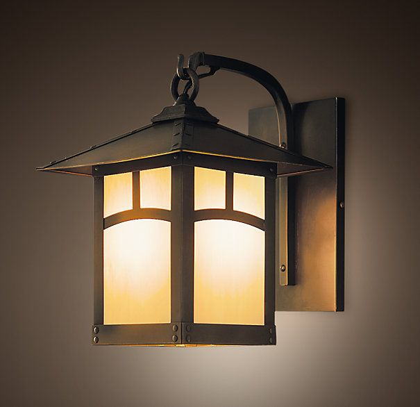 Madera Lantern Sconce With Images