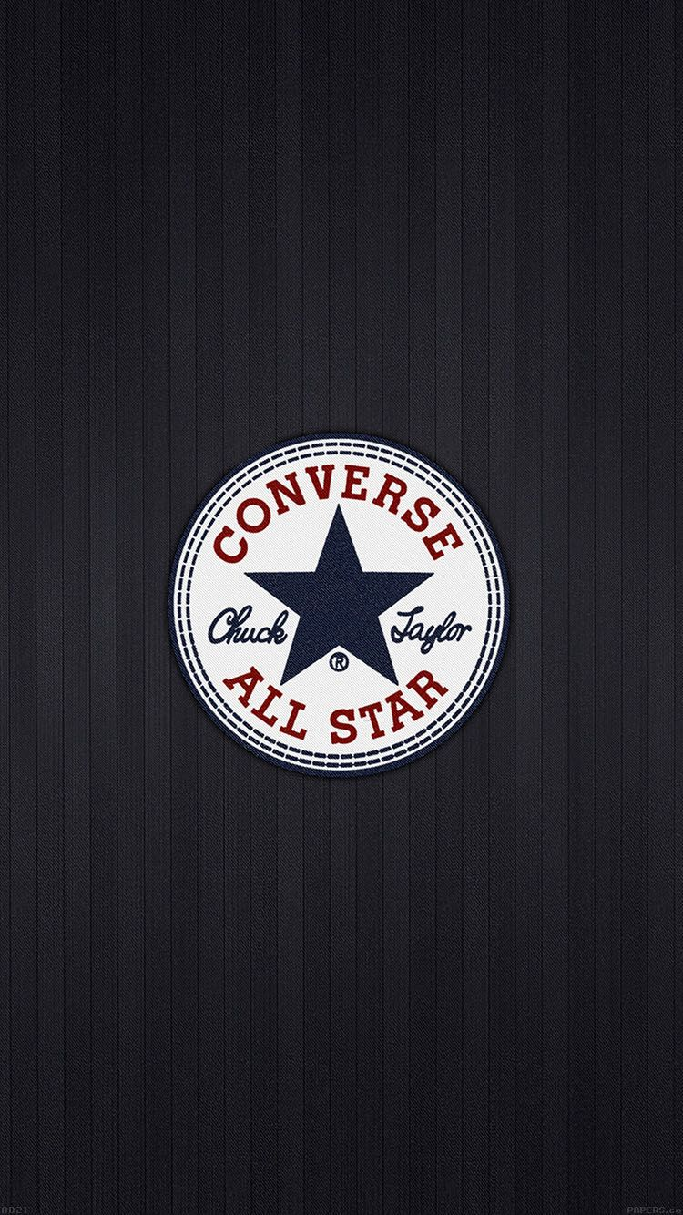61e1c6e1384f CONVERSE ALLSTAR LOGO WALLPAPER HD IPHONE