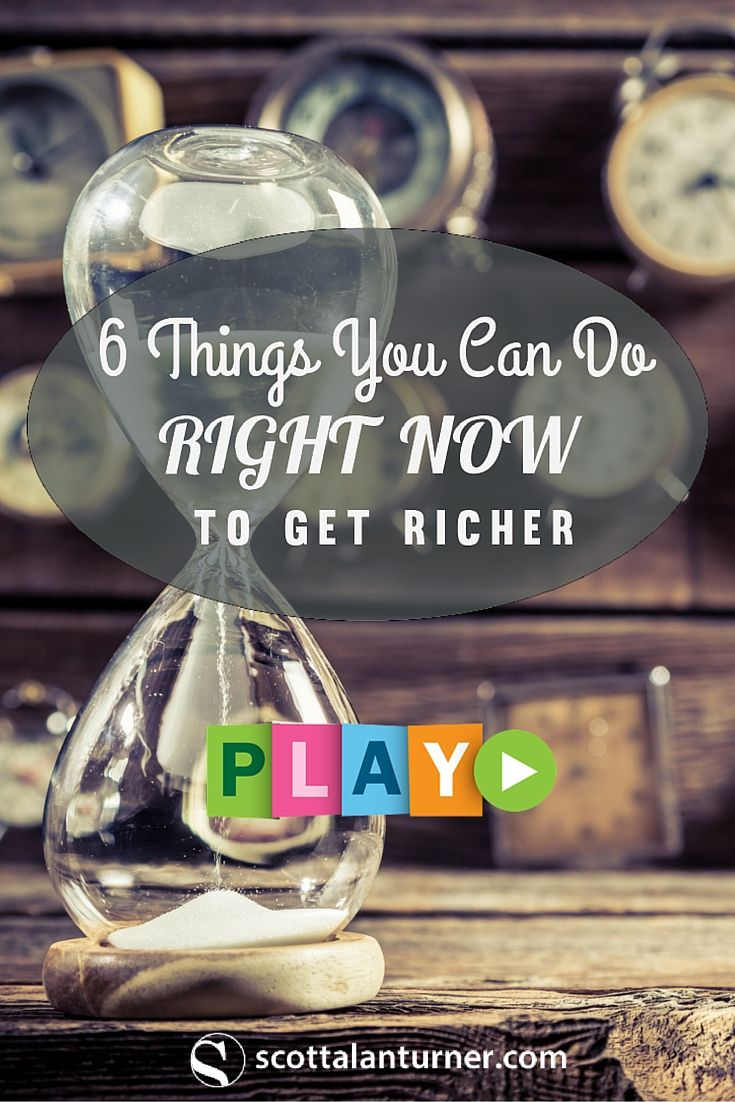 083 6 Things You Can Do Right Now to Get Richer Balance