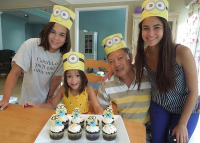 """Chieu Anh Urban: Despicable Me """"Just Because Party"""""""