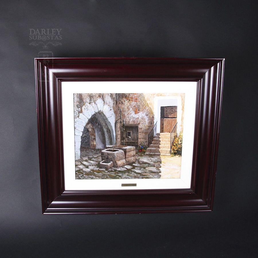 """Subasta de la obra """"El pouet del castell"""" de Moreno i Mira. Lote 28103225.  http://www.subastasdarley.com/es/subasta-moreno-i-mira-el-pouet-del-castell-la-todolella-6243"""