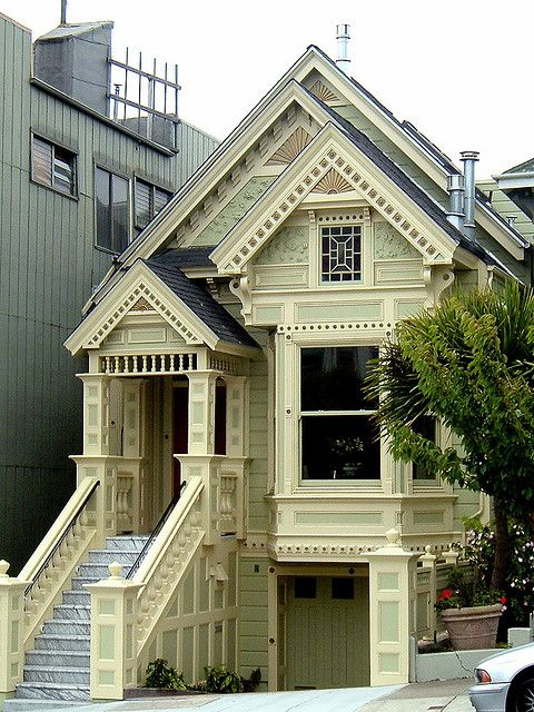 2905 Bush Street San Francisco Built 1875 Victorian Homes Victorian Style Homes House Styles