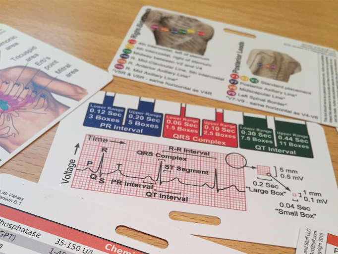Nurse badge cards
