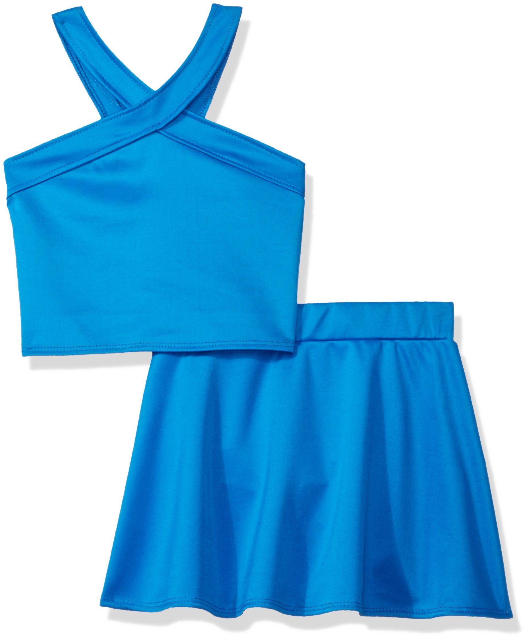 Birthday Dress Princess White L//s Shirt Light Hot Pink Petal Skirt Set Nb-8y