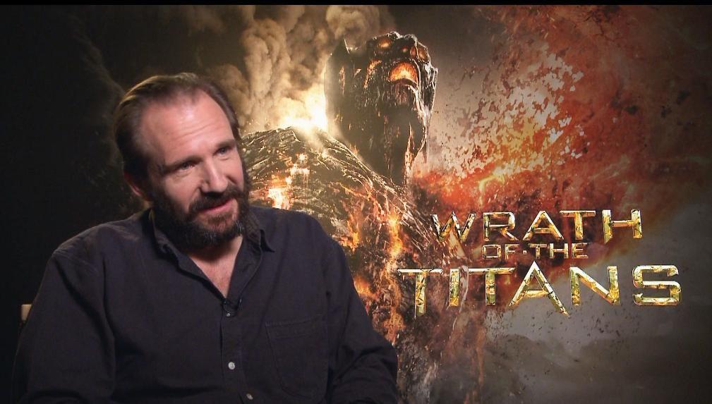 Wrath of the Titans Ralph Fiennes - Ralph describes Wrath ...