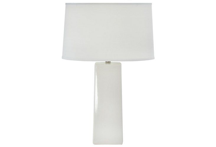 Exclusive Karmen Tall Square Lamp White Lamp Table Lamp White Light
