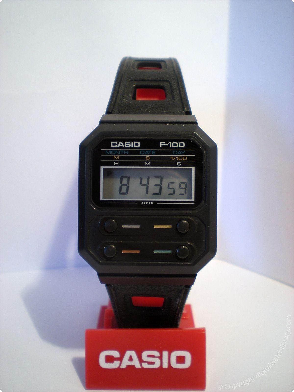 CASIO - F-100 - f-series - Vintage Digital Watch - Digital-Watch.com ... e356940e6626