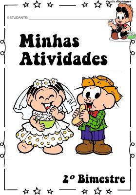 Pepito Atividades Escolares Capas Para Avaliacoes Festas Junina