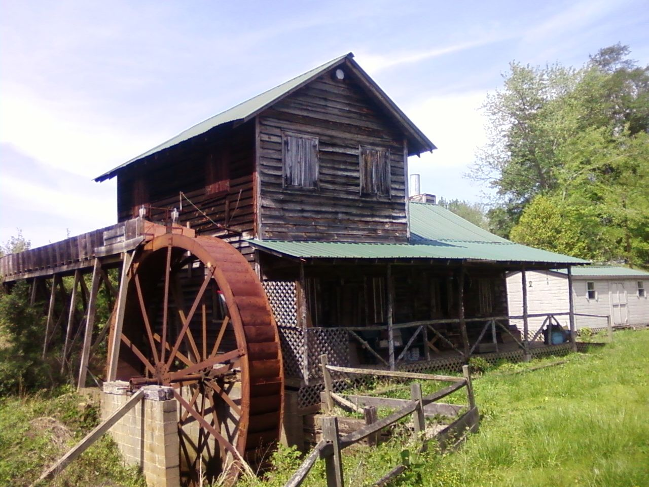 Old Grist Mill - SC 2010 by MFortin