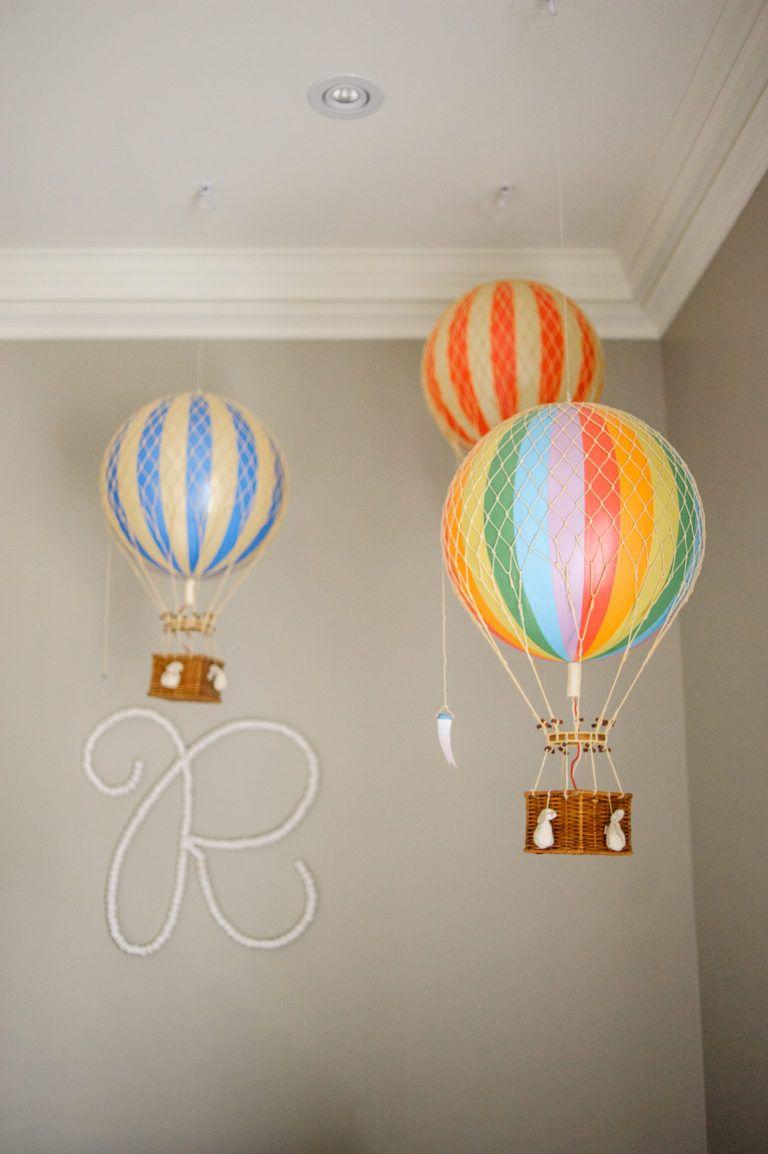 Dream Nursery For Twins Project, Hot Air Balloon Bathroom Decor