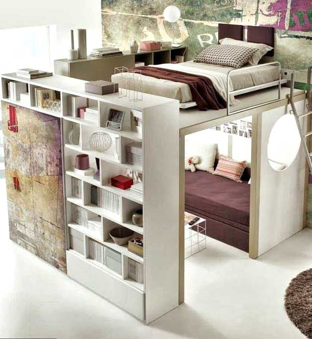 8 Creative Loft Ideas For Small Spaces With High Ceiling Small Room Design Bedroom Diy Girl Bedroom Designs