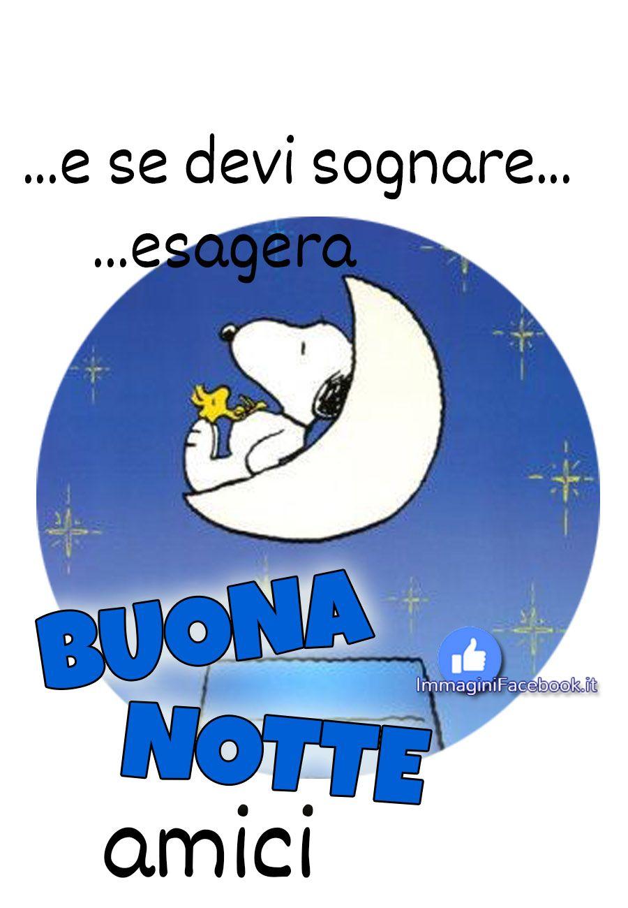 Frasi Buonanotte Nuove Snoopy Buonanotte Buona Notte