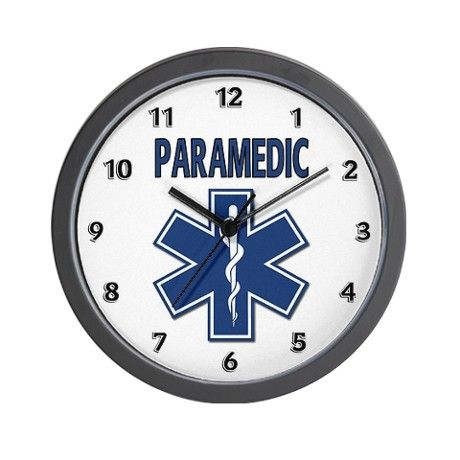 Paramedic EMS Wall Clock