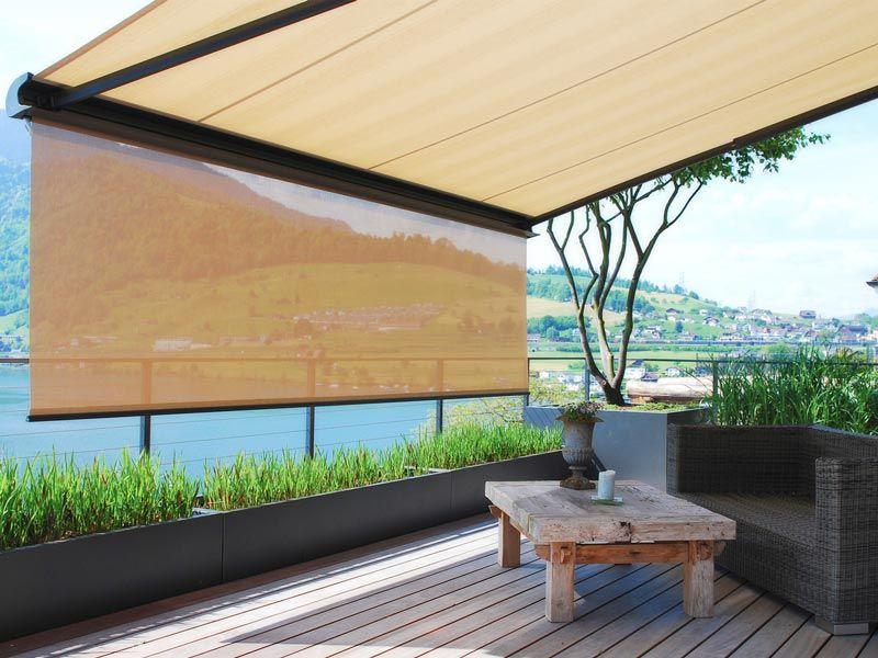 Sonnenschutz | Fenestra - Huefnagels Gmbh | Balcony Cover | Pinterest Balkon Markisen Sonnenschutz